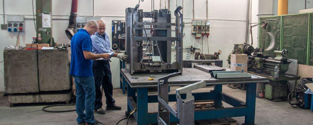 reparto prototipazione ITLA